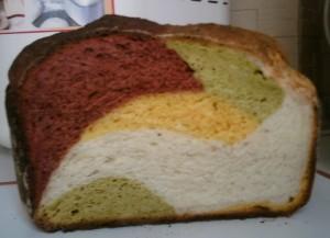 Овощной австралийский хлеб
