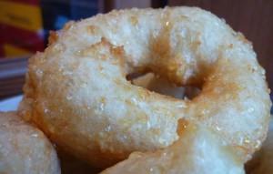 Постные медовые пончики