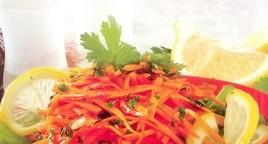 Морковный салатик по-мароккански
