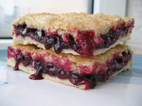 Тертый пирог с ягодами рецепт с фото