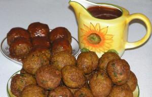 Овощные жареные шарики