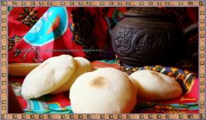 Марокканские лепешки «Батбуты» или постные булочки