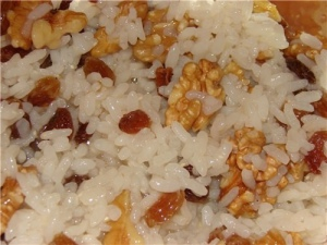 Постная кутья из риса