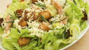 Необычный салат Цезарь